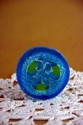Mydło niebieska laguna loofah - na wagę