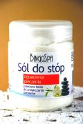 Sól do stóp na odparzenia i pieczenia